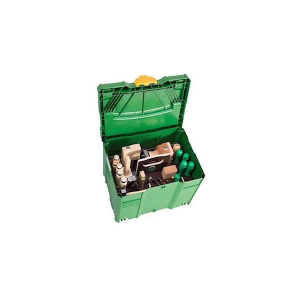 """ULMIA Tooltainer """"Innenausbau"""" mit 28-teiligem Werkzeugsatz"""